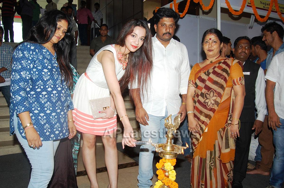 Silken Splendour in Vizag City - Former Miss Vizag Dr Sindhura Inaugurates Silk India Expo - Picture 4