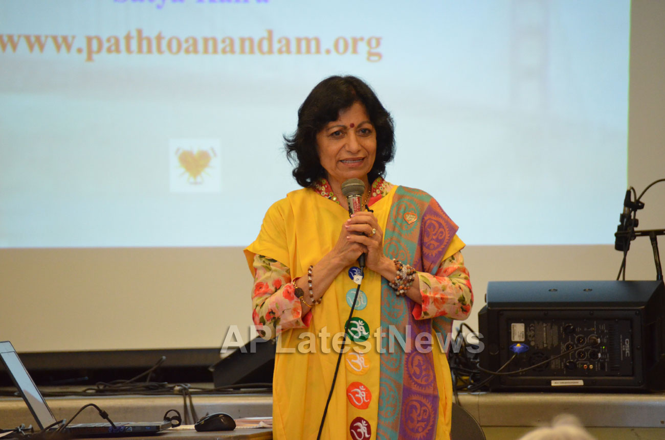 Celebration of 2nd International Day of Yoga, San Francisco, CA, USA - Picture 8