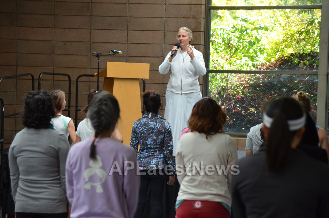 Celebration of 2nd International Day of Yoga, San Francisco, CA, USA - Picture 10