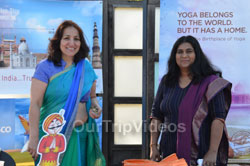 Celebration of 2nd International Day of Yoga, San Francisco, CA, USA - Picture 14