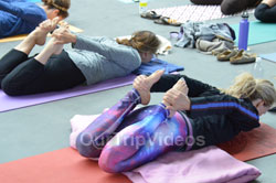 Celebration of 2nd International Day of Yoga, San Francisco, CA, USA - Picture 11