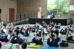 Celebration of 2nd International Day of Yoga, San Francisco, CA, USA - Picture 22