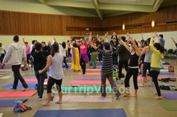 Celebration of 2nd International Day of Yoga, San Francisco, CA, USA - Picture 16