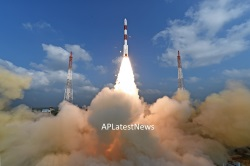 Pictures of ISRO successfully launched 104 satellites on PSLV C37 rocket from the Sriharikota, AP, India