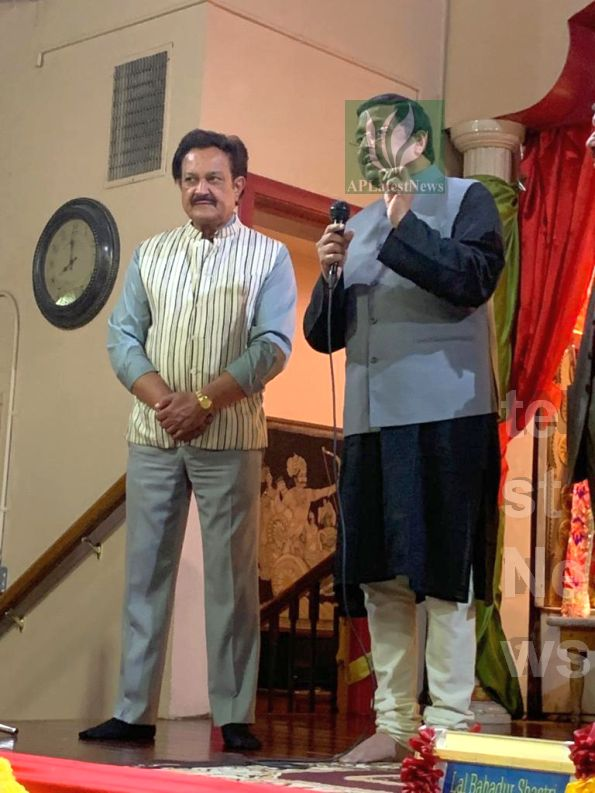 150th Birth Anniversary of Mahatma Gandhi and Shastri, Fremont, CA, USA - Picture 1
