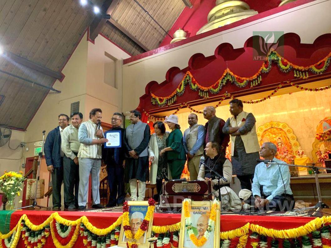 150th Birth Anniversary of Mahatma Gandhi and Shastri, Fremont, CA, USA - Picture 8