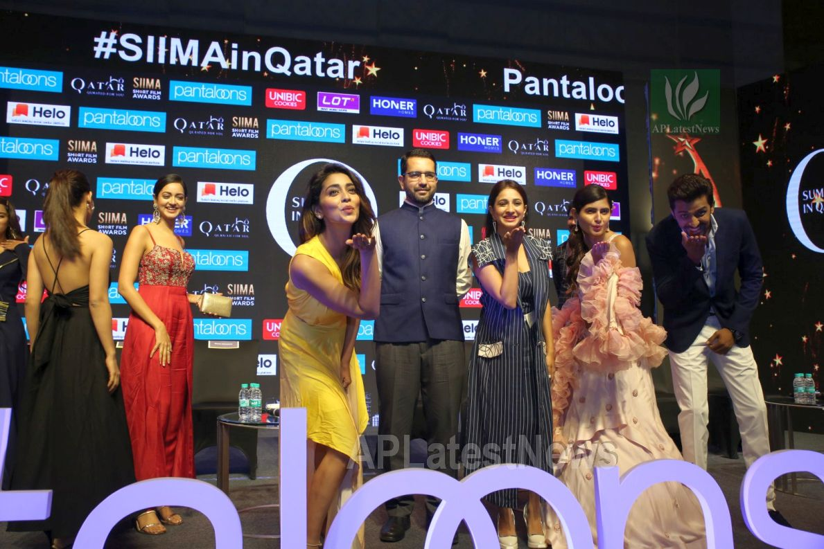 Film Celebrities at SIIMA 2019 Curtain Raiser, Hyderabad, TS, India - Picture 39