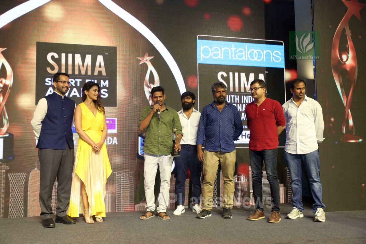 Film Celebrities at SIIMA 2019 Curtain Raiser, Hyderabad, TS, India - Picture 38