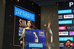 Film Celebrities at SIIMA 2019 Curtain Raiser, Hyderabad, TS, India - Picture 1