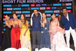 Pictures of Film Celebrities at SIIMA 2019 Curtain Raiser, Hyderabad, TS, India