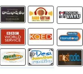 Live Streaming - Listen Radio Online(Telugu/ English/ Hindi/ Tamil/ Kannada/ Malayalam/ Bengali) - Live Radio