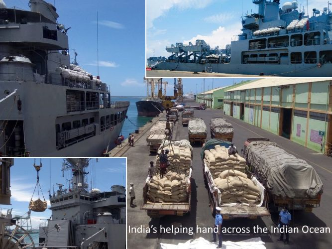 Mission Sagar: helping hand of India across the Indian Ocean - Maldives, Mauritius, Seychelles . .